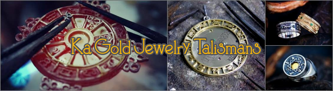 Talismans on Ka Gold Jewelry. Click on image to open the link.