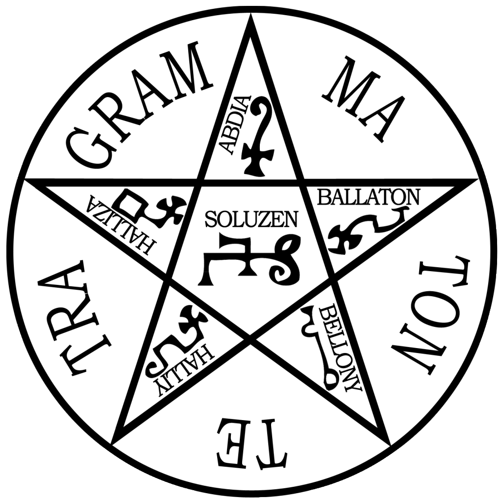 Pentagram of Solomon by Deoin